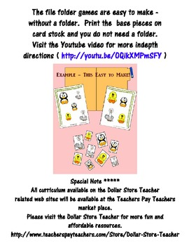 Alphabet Matching  Upper - Lower Case Reading Center - Preschool - Autism - SpEd