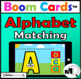 Alphabet Uppercase & Lowercase Letters Boom Cards Distance