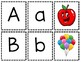 Alphabet Matching:  Uppercase to Lowercase to Picture