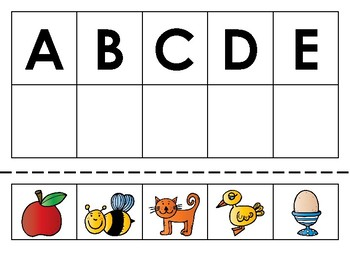 Alphabet Matching and Sorting Bundle