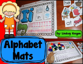 Alphabet Mats - Writing, Sorting and Creating Letters and Sounds