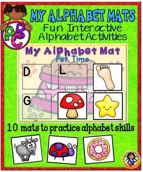 Alphabet Mats A-Z
