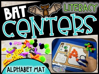 Alphabet Mats - Bat Themed