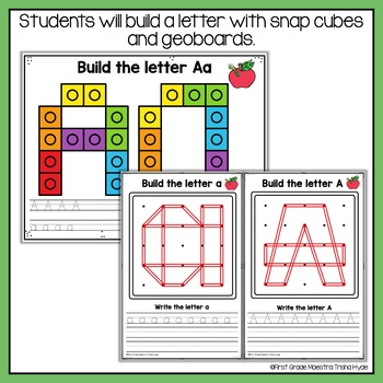 Alphabet Mats Bundle