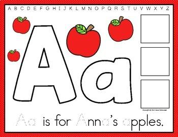 Alphabet Mats - English