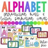 Alphabet Mats Letter Introduction Letter Formation Mats