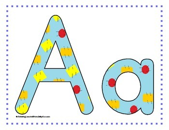 Alphabet Mats With Cards set 2