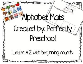 Alphabet Mats and Beginning Sounds