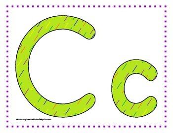 Alphabet Mats and Cards