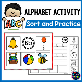 Alphabet Worksheets and Beginning Sounds Pocket Chart Activities