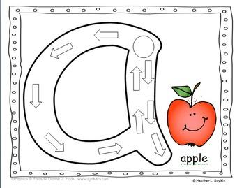 Alphabet Mats for Dough, Transparent Chips, or Magnetic Chips
