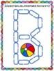 Alphabet Mats for Links - ENGLISH UPPERCASE (Playdough Alternative) Link & Learn