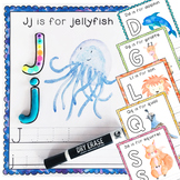 Alphabet Mats: for play dough, write-and-wipe, and other loose parts!