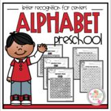 Alphabet Maze Letters Recognition for Centers