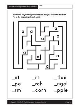 Alphabet Mazes (29 pages)