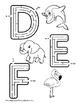 Alphabet Mazes Featuring Animlas