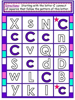 Alphabet Mazes For Learning About Letters