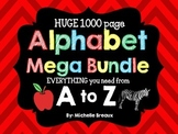 Alphabet Mega Bundle Letter of the Week- Phonics & More {PreK, K, 1, Autism}