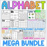 Alphabet Mega Bundle - Worksheets, Games, Letter of the We