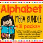 Alphabet Mega Pack Forever Growing Bundle - Letter Recognition, Sounds, Writing