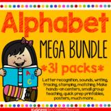 Alphabet Mega Bundle 31 Packs - Centers, Games, Recognitio