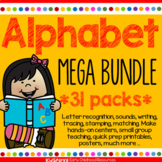 Alphabet Mega Bundle 31 Packs - Centers, Games, Recognitio