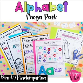 Alphabet Mega Pack: Printable Alphabet Activities for Kind