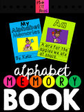 Alphabet Memory Book (End of the Year Book)