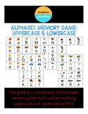 Alphabet Memory Game: Matching Uppercase & Lowercase (Alphabet Center)