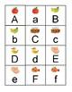 Alphabet Memory Game: Matching Uppercase & Lowercase (Alphabet Center)