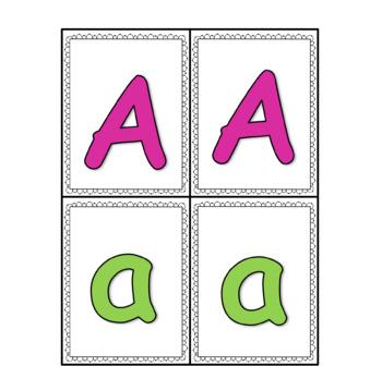 Alphabet Memory Games
