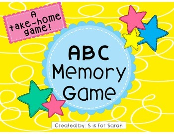 Alphabet Memory Take-Home Game