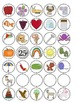 Alphabet Milk Tops for Name Puzzles and MORE!