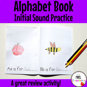 Alphabet Mini Book