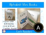 Alphabet Mini Book - A