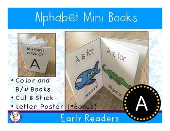 Alphabet Mini Book - A
