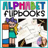 Alphabet Letter Flip Books (Pre-K and Kindergarten)