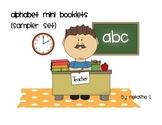 Alphabet Mini Booklets Sampler Set