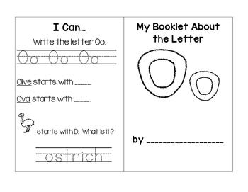 Alphabet Mini Booklets Set #2