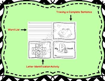 Alphabet: Foldable Interactive Mini Books and Alphabet Posters