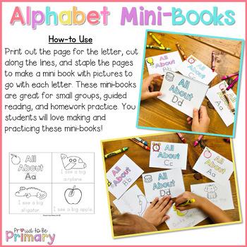 Alphabet Mini Story Books