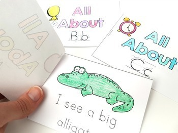 Alphabet Mini Story Books  | Distance Learning