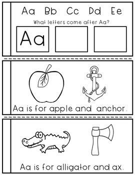 Alphabet Mini-Books