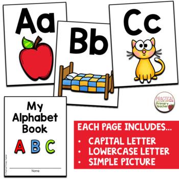 Alphabet Book - Mini book for emergent readers