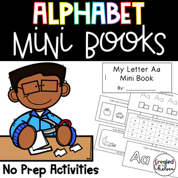Alphabet Mini Books {5 activities for letters A-Z}