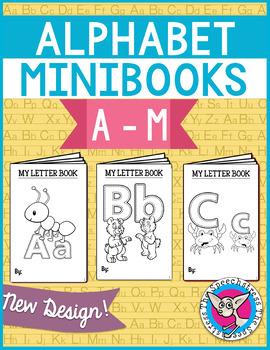 Alphabet Mini Books: Beginning Sounds, A-M