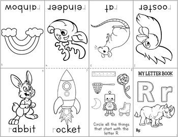 Alphabet Mini Books: Beginning Sounds, N-Z