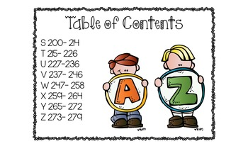 Alphabet Mini Books Bundle