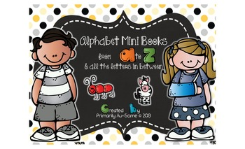Alphabet Mini Books Bundle