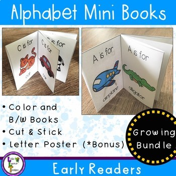 Alphabet Mini Books Growing Bundle